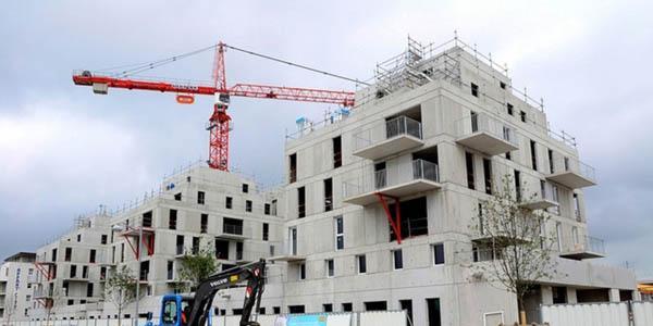 Les mises en chantier de logements neufs ont progressé de 2,1% sur un an entre juin et août.