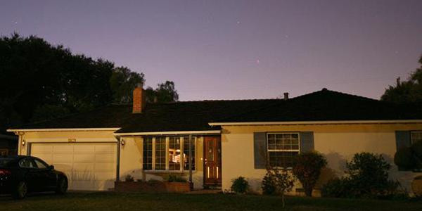 La maison de Steve Jobs, bâtie au 2066 Crist Drive, à Los Altos, en Californie.
