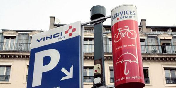 Vinci Parks représente 2.600 parkings et 1,6 million places de stationnements dans 14 pays