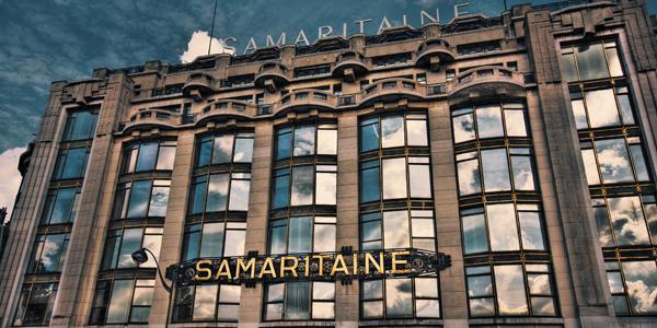 Fermée depuis 2005, la Samaritaine fait l'objet d'une rénovation majeure, qui doit déboucher sur l'ouverture d'un nouvel espace.