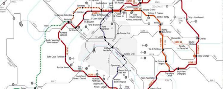 Les transports en commun sont un volet essentiel du Grand Paris.