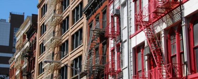 Dans le quartier de Stuyvesant Town, certains immeubles seront loués à des prix plafonnés.