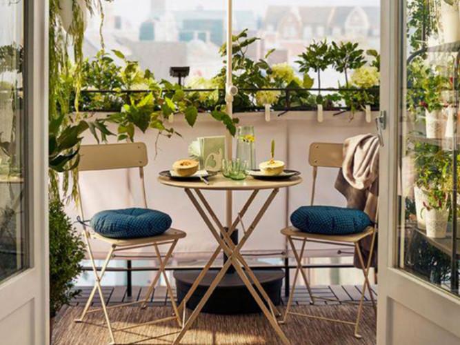 Décoration: Nos idées pour aménager un petit balcon
