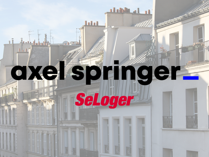 Axel Springer prépare la vente de SeLoger !
