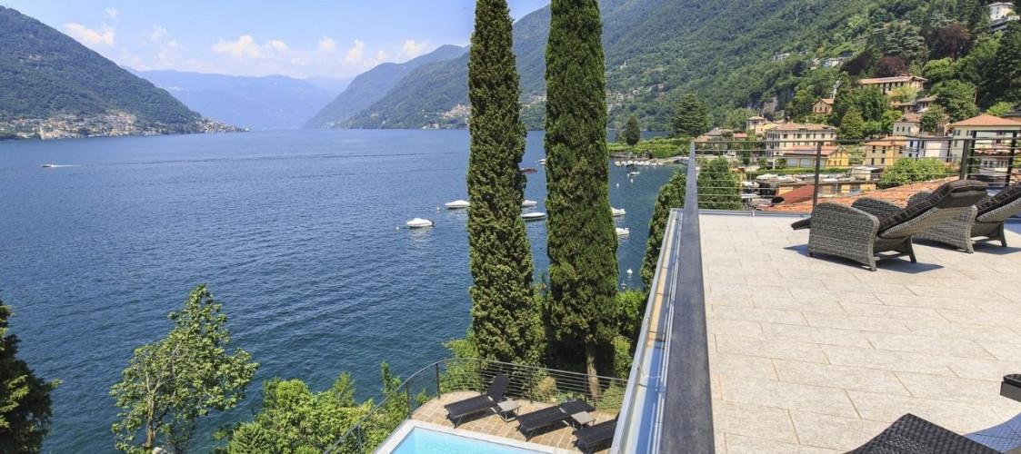 Immobilier Italie : Romantique et prisée la vue sur le lac de Côme (Lombardie)